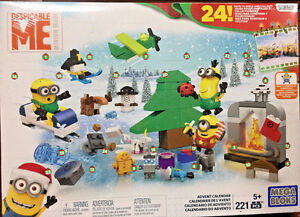 Mega Bloks Minions Despicable Me Advent Calendar