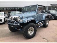 1999 Jeep Wrangler TJ WRANGLER TJ - AUTOMATIC - A/C - VAT Q - Petrol blue Automa