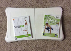 Wii Fit Board With 2 Games!