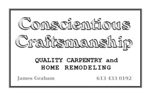 Home renovations specialist