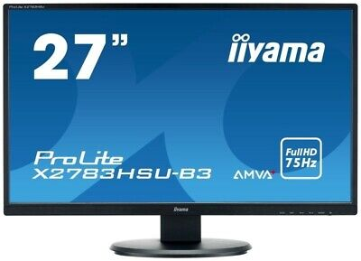 "Iiyama ProLite X2783HSU-B3 27"" Full HD Monitor {UK and PAYPAL only}"