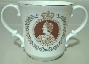 Royal Doulton Cup HM Elizabeth Queen Mother 80th Birthday