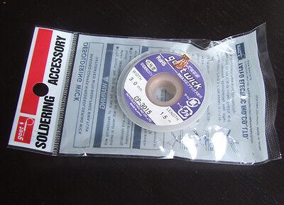 10pc Cp-3015 Desoldering Solder Remover Desoldering Clean Wire 3mm 1.5m Xbox Bga