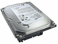 """500GB SATA 3.5"""" Seagate Hard drive in perfect condition can be seen working."""