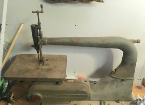 "Antique 24"" scroll saw"