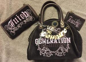 Juicy Couture purse set