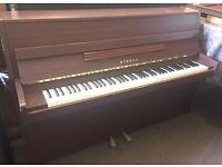 Yamaha Eterna Upright Piano | Modern Size | Satin Mahogany | Tuned & Delivered!