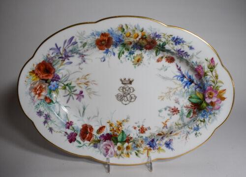 Jacquel Hand Painted Paris Porcelain Platter