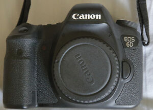 CANON 6D BODY  Great shape Never bumped/dropped