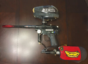 ICD BKO Electronic Paintball Gun + Extras