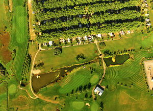 Private RV Lots on Golf Course near Calgary