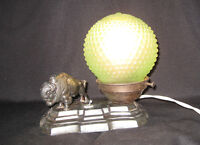 Art Deco Buffalo Lamp!