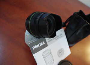 Pentax SMC DA 15 mm F/4 limited lens