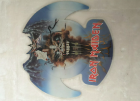 Iron maiden shaped picture Disc