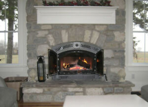 Natural Stone Custom Installed Fireplaces