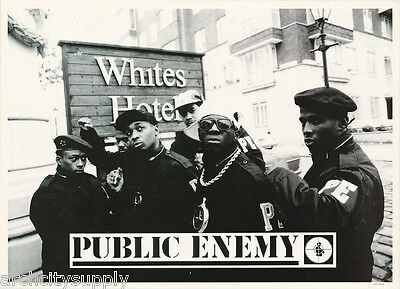POSTER : MUSIC : RAP : PUBLIC ENEMY - WHITES HOTEL - FREE SHIPPING !      LW11 J