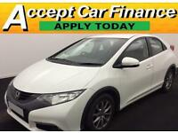 Honda Civic 2.2i-DTEC 2012MY EX FROM £41 PER WEEK!