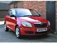 2009/59 SKODA FABIA 1.2 HTP. ONE LADY OWNER 53000 MILES.FULL SERVICE HISTORY