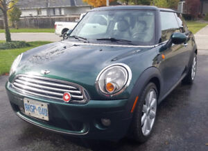 2008 Mini Cooper with sport package
