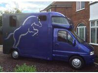 3.5 tonne horse box
