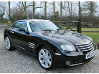 2006 CHRYSLER CROSSFIRE 3.2 V6 2DR MANUAL COUPE PETROL WARRANTIED LOW MILEAGE
