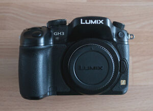 Panasonic GH3 (Body) + Battery Grip and 3 Extra Batteries