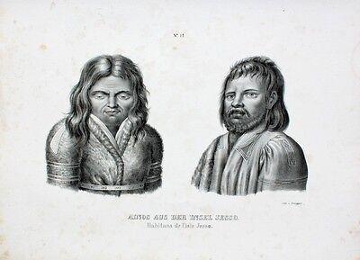 Kurilen (Hokaido Japan Kurilen Pelz Ainu Sachalin Aomori Ureinwohner Kamtschatka Nippon)