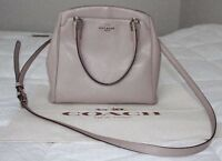 Coach leather handbag , new condition
