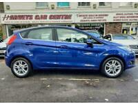 2018 Ford Fiesta 1.0 EcoBoost Zetec Blue Edition (s/s) 5dr Hatchback Petrol Manu
