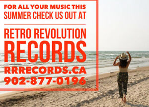 This Summer ! Check out Retro Revolution's Website ! Records!