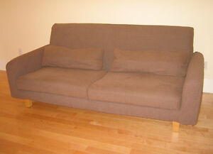 Divan sofa ikea housse lavable 3 places couch for Housse futon montreal
