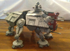 LEGO Star Wars 75019 AT TE [Assembled] [Retired] (no minifigs)