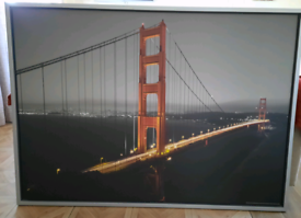 San Francisco Canvas (Golden gate bridge )