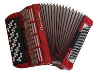 Barcarole Topas 120 Bass C Sytem Chromatic Button Accordion