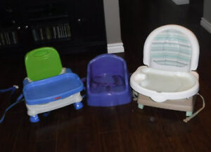 3 Chaises d'appoint Safety First Fisher Price