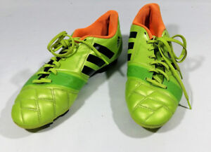 Adidas NitroCharge 3.0 Mens Soccer Cleats Size 8.5 Lime Green