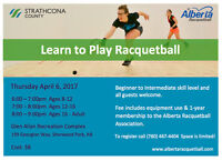 Learn to Play Racquetball Thurs. April 6!