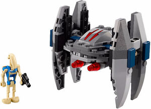 LEGO Star Wars 75073 Vulture Droid, Microfighter, 100% Complete!