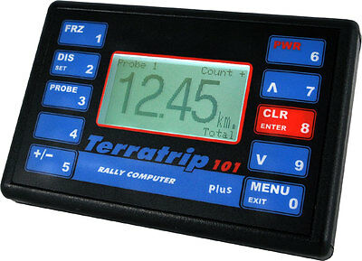 Terratrip 101 Plus Rallyecomputer  - Elektronischer Wegstreckenzähler