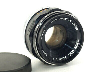 Canon 35mm F2 Lens for L39 LEICA SCREW MOUNT LTM [Excellent] From JAPAN