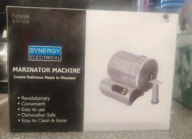 Brand new Marinator machine