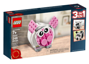 Lego Set - Limited Edition 'Piggy' Bank 3 in 1