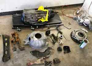 Camaro v8 T5 5 speed manual swap kit. EVERYTHING HERE MINT