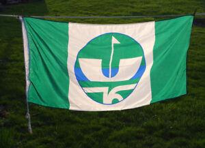CITY OF ST. CATHARINES CENTENNIAL FLAG 1976