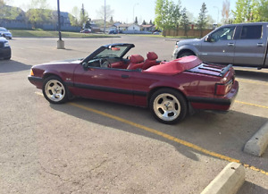 1988 Ford Mustang 5.0 5-speed convertible