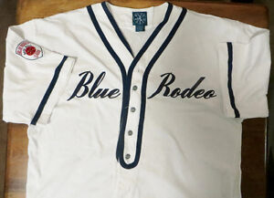 Very Rare collectible BLUE RODEO (band) Baseball Jersey 1992(?)