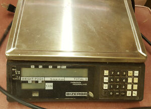 Bizerba scale - powers up – USED - AS IS