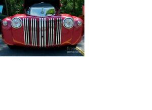 Front grill,housing,parts or complete truck 1947 ford,merc