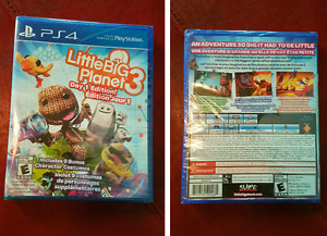 PS4 Game- Little Big Planet 3