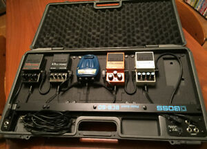 Boss Pedal Board Case & pedals